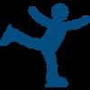 Ice Skater Icon